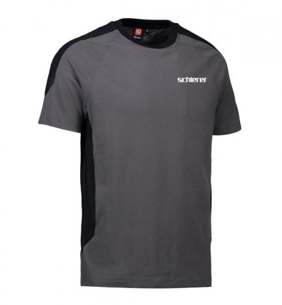 Metallbau T-Shirt Kontrast inkl. Druck, Gr. XS