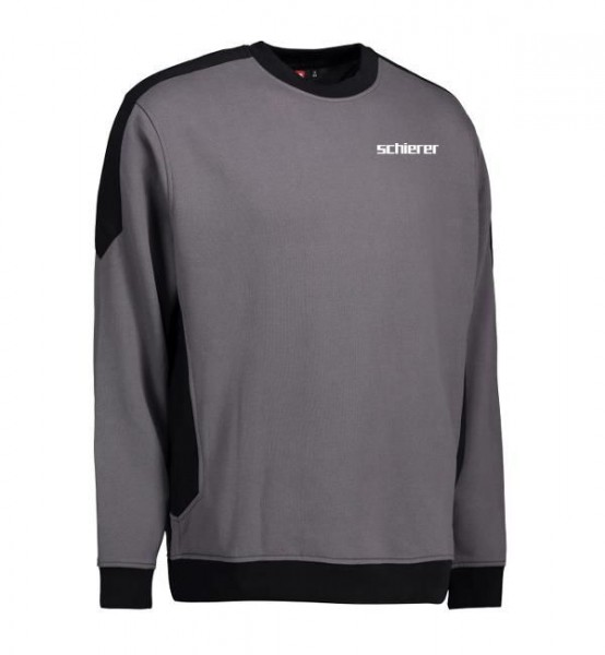 Metallbau Sweatshirt Kontrast inkl. Druck, Gr. 3XL
