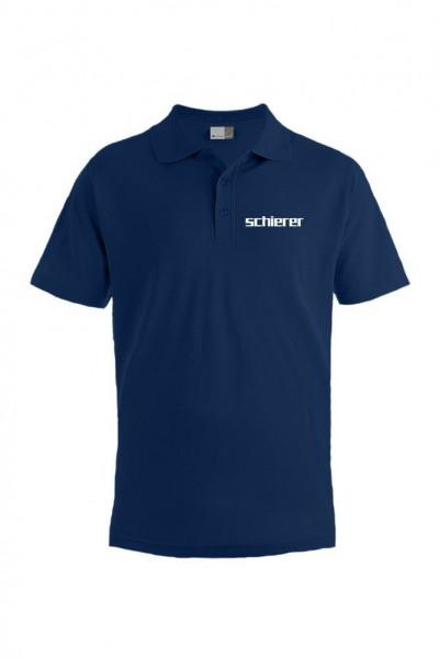 Men's Poloshirt inkl. Stick Logo, navy, Gr. 5XL