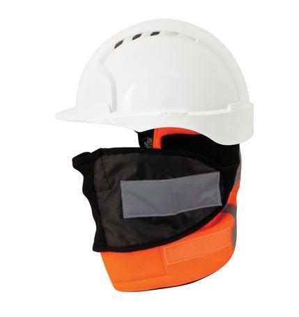 Helm Kopf- & Gesichtswärmer - Hi-Vis Orange für Eisenbahn-Spezifikation