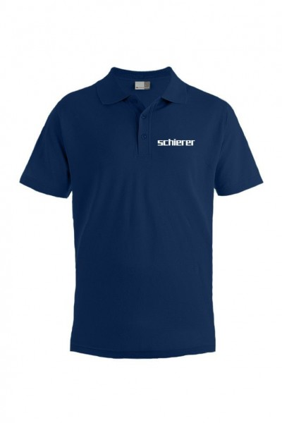 Men's Poloshirt inkl. Stick Logo, navy, Gr. XXL