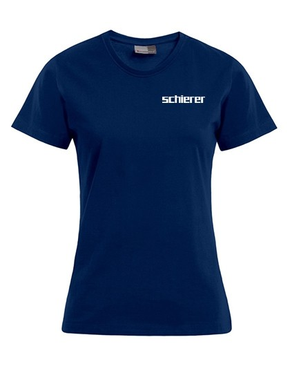 Women's Premium T-Shirt inkl. Druck, Gr. 3XL