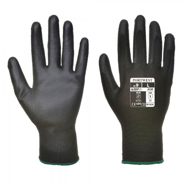 PU Handschuhe, schwarz, Gr. M/8
