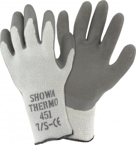 Thermo, Acryl-Baumwoll-Handschuh mit Latex