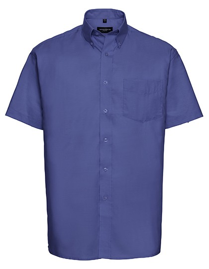 Men`s Short Sleeve Classic Oxford Shirt