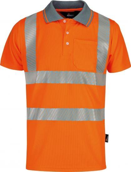 Warnschutz-Poloshirt