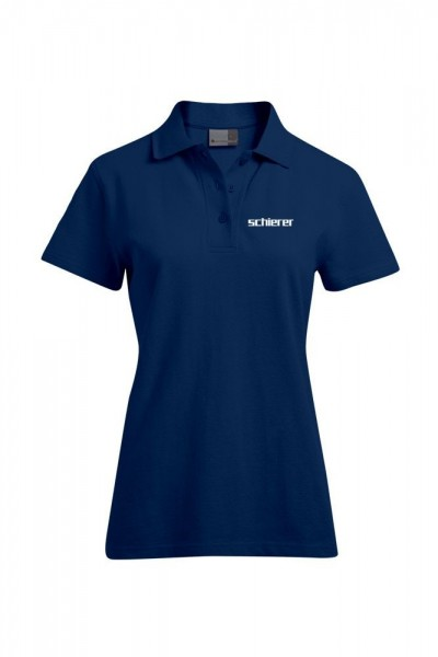Women's Poloshirt inkl. Stick Logo, navy, Gr. XXL