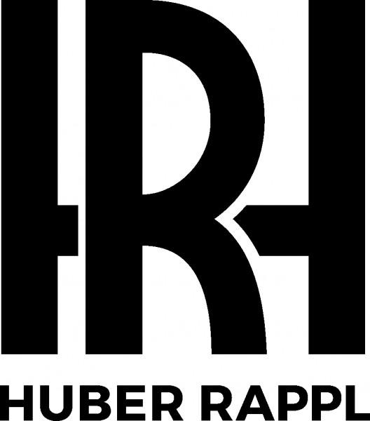 Druck Logo Huber Rappl. schwarz