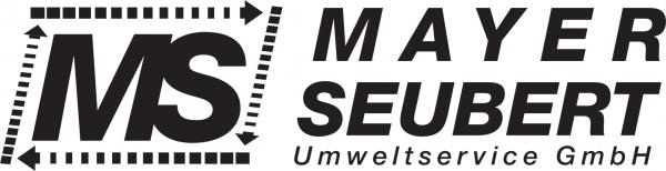 MS Umweltservice - schwarz Brust ca. 10cm