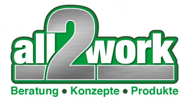 Stick Logo all2work