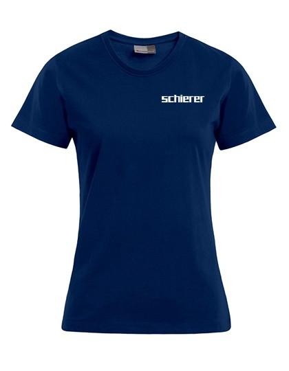 Women's Premium T-Shirt inkl. Druck, Gr. M